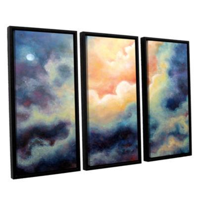 Brushstone Marina 3-pc. Floater Framed Canvas WallArt
