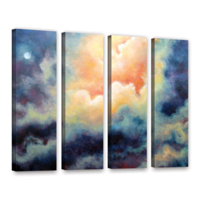 Brushstone Marina 4-pc. Gallery Wrapped Canvas Wall Art
