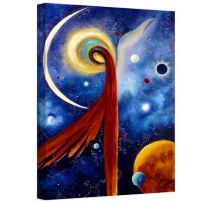 Brushstone Lunar Angel Gallery Wrapped Canvas Wall Art