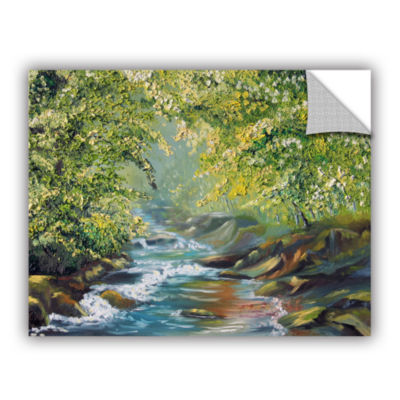 Brushstone Living Water (Tranquil Stream) Removable Wall Decal