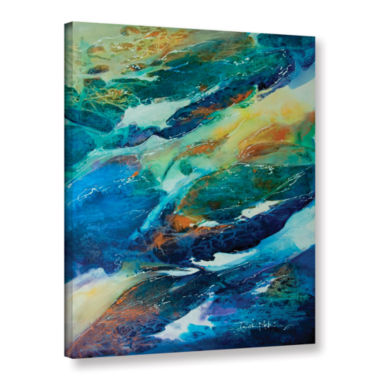 Brushstone Living Water Gallery Wrapped Canvas Wall Art