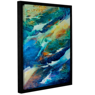 Brushstone Living Water Gallery Wrapped Floater-Framed Canvas Wall Art