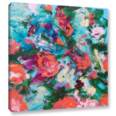 Brushstone Luxemburg Garden Gallery Wrapped CanvasWall Art
