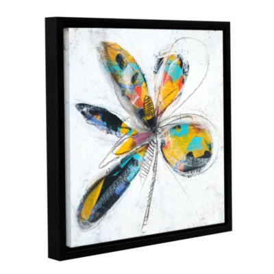 Brushstone Lyrical Three Gallery Wrapped Floater-Framed Canvas Wall Art