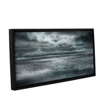 Brushstone Maelstrom Gallery Wrapped Floater-Framed Canvas Wall Art