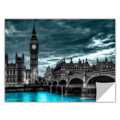 Brushstone London (Big Ben) Removable Wall Decal