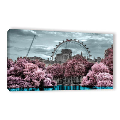 Brushstone London II Gallery Wrapped Canvas Wall Art
