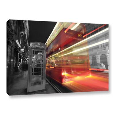 Brushstone London III Gallery Wrapped Canvas WallArt