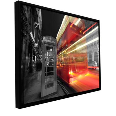 Brushstone London III Gallery Wrapped Floater-Framed Canvas Wall Art