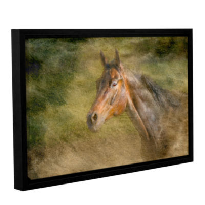 Brushstone Majestic Horse Gallery Wrapped Floater-Framed Canvas Wall Art
