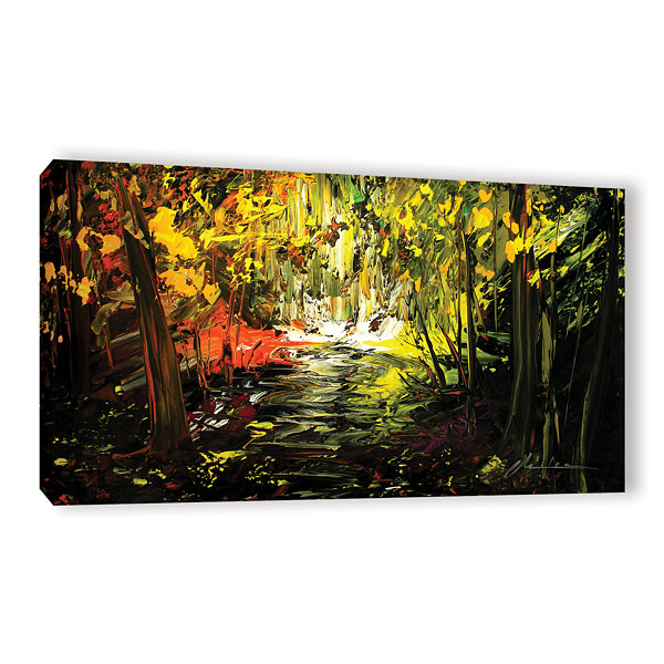 Brushstone Lone Trail Gallery Wrapped Canvas WallArt