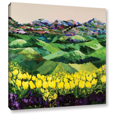 Brushstone Majestic Parade Gallery Wrapped CanvasWall Art