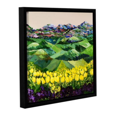 Brushstone Majestic Parade Gallery Wrapped Floater-Framed Canvas Wall Art
