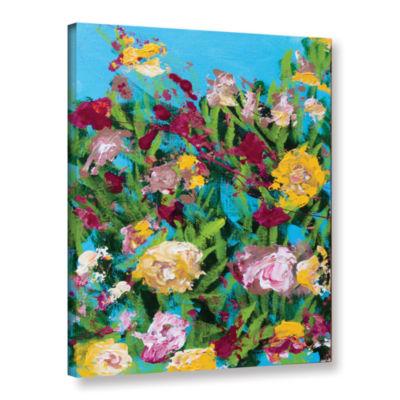Brushstone Majorelle Garden Gallery Wrapped CanvasWall Art