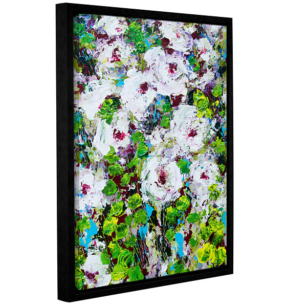 Brushstone Longmont Garden Gallery Wrapped Floater-Framed Canvas Wall Art