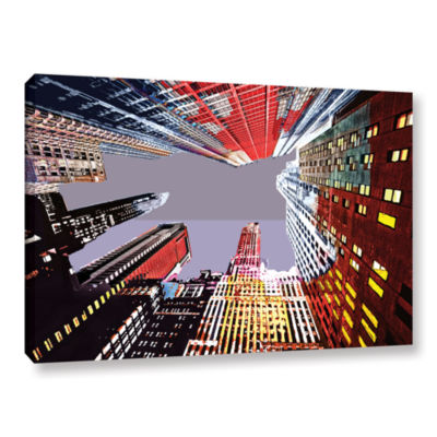 Brushstone Look Up Gallery Wrapped Canvas Wall Art