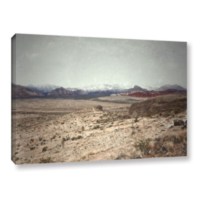 Brushstone Looking Ahead Gallery Wrapped Canvas Wall Art
