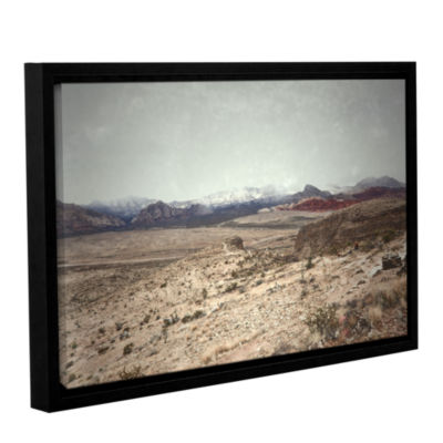 Brushstone Looking Ahead Gallery Wrapped Floater-Framed Canvas Wall Art