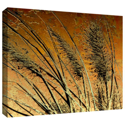 Brushstone March Grass Gallery Wrapped Canvas WallArt