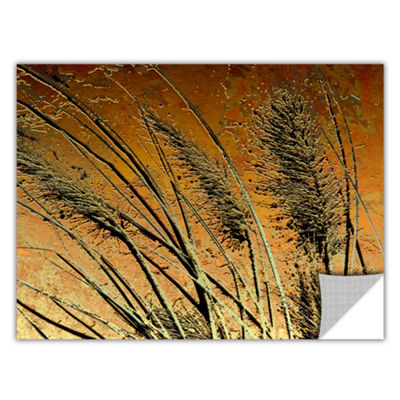 Brushstone March Grass Removable Wall Decal