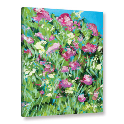 Brushstone Malleny Garden Gallery Wrapped Canvas Wall Art