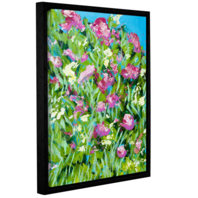 Brushstone Malleny Garden Gallery Wrapped Floater-Framed Canvas Wall Art