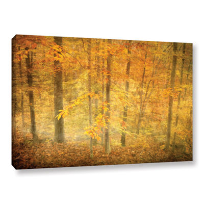 Brushstone Lost In Autumn Gallery Wrapped Canvas Wall Art