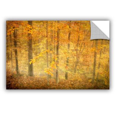 Brushstone Lost In Autumn Removable Wall Decal