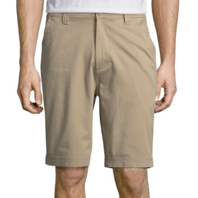 St. Johns Bay Comfort Stretch Flat Front Short