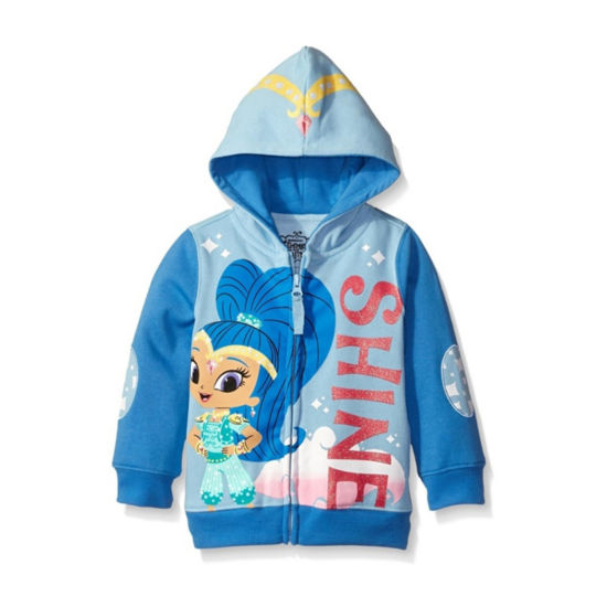 Nickelodeon Shine and Shimmer Toddler Girls Shine Costume Hoodie with Pink Glitter