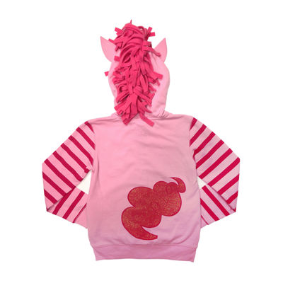 My Little Pony Toddler Girls Pinkie Pie Costume Hoodie with Crystalline and 3D Mane