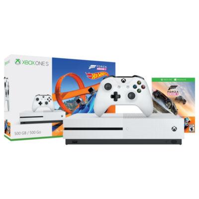 Xbox One S 500GB Forza Horizon 3 Hot Wheels Console Bundle