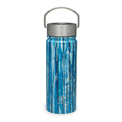 Gaiam Bluegrass Stainelss Steel Wide Mouth Water Bottle (18 oz)