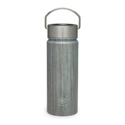 Gaiam Woodland Stainless Steel Wide Mouth Water Bottle (18 oz)
