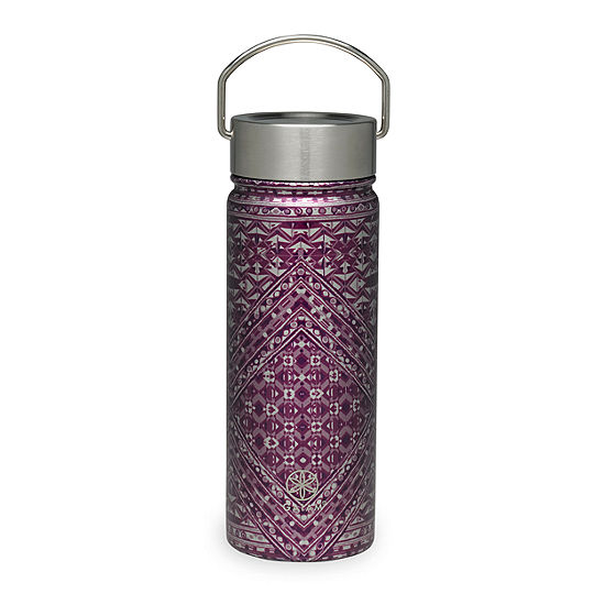 Gaiam Mosaic Stainless Steel Wide Mouth Water Bottle 18