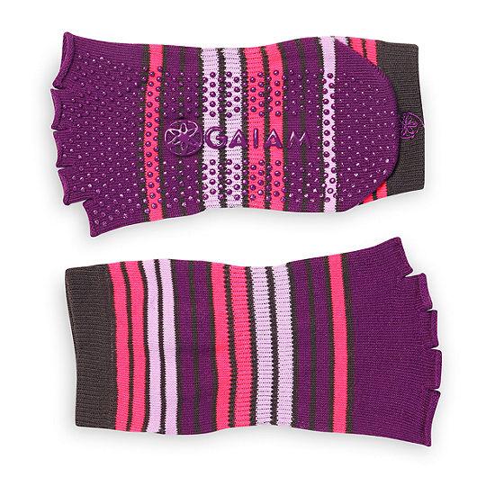 Gaiam Toeless Yoga Socks