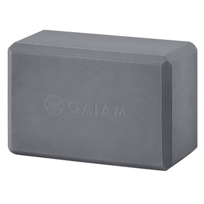 Gaiam Gray Yoga Block
