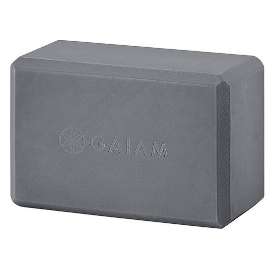 Gaiam Gray Yoga Block
