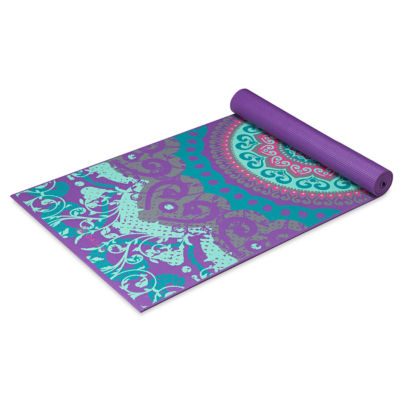 Gaiam Moroccan Garden Yoga Mat (4MM)
