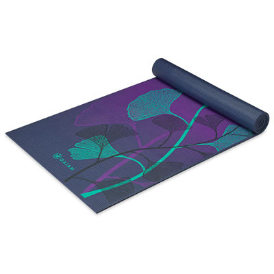 Gaiam Lily Shadows Yoga Mat (6MM)