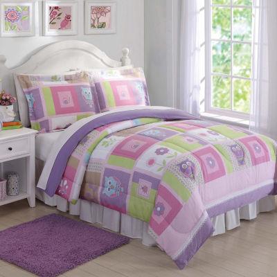 Laura Hart Kids Happy Owls Comforter Set
