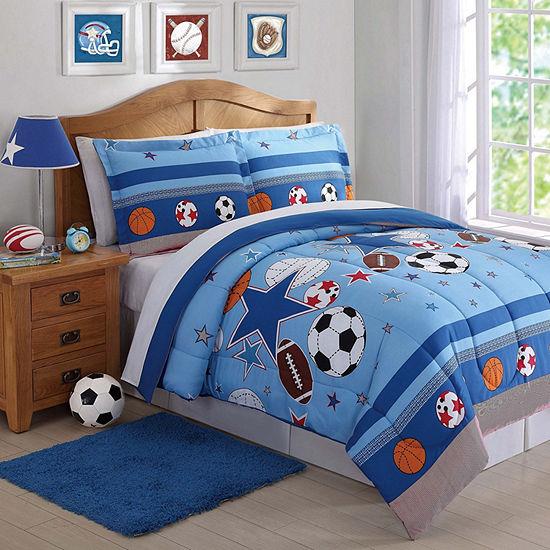 My World Sports And Stars Comforter Set