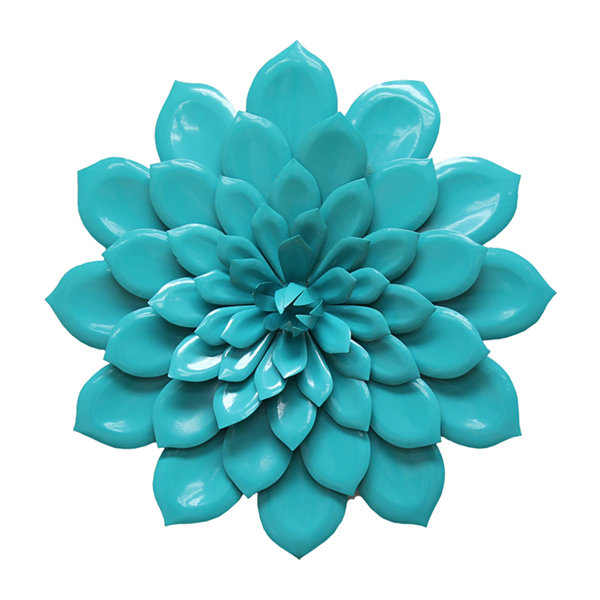 Layered  Flower Wall Décor Metal Wall Art