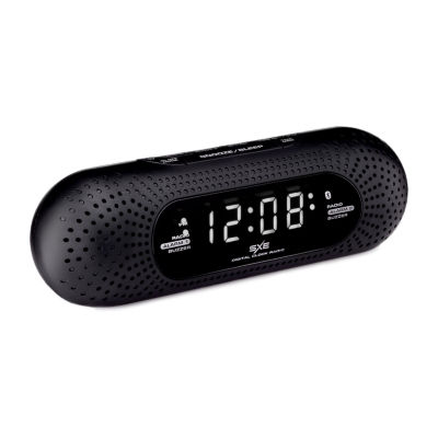 SXE Bluetooth Pill Shaped Clock Radio