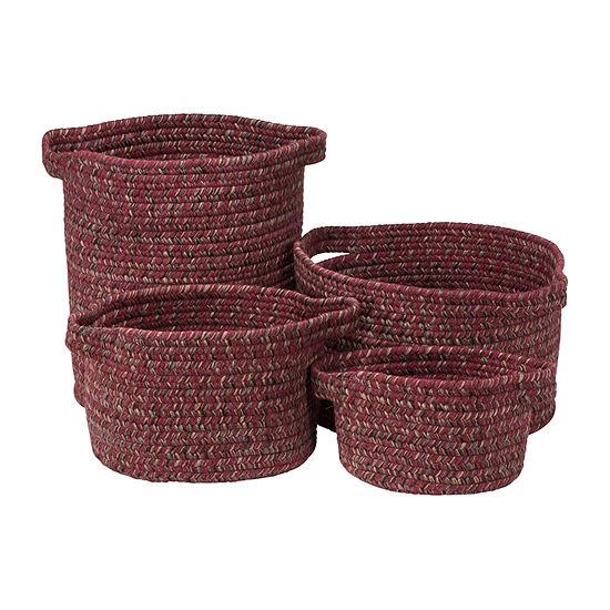 Colonial Mills Grafton Tweed Braided Basket