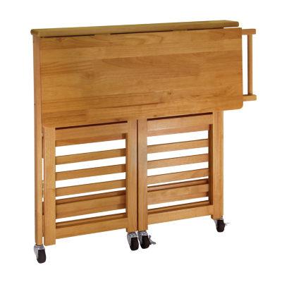 Winsome Radley Foldable Kitchen Cart
