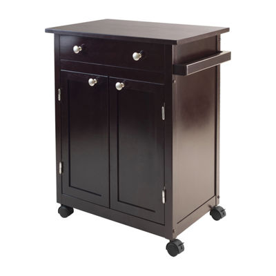 Winsome Savannah Kitchen Cart