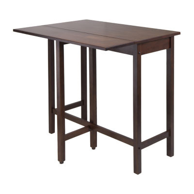 Winsome Lynnwood Drop Leaf High Dining Table
