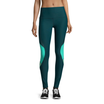 Xersion Performance Track Leggings with Mesh Insets