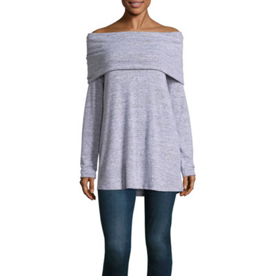 a.n.a Off Shoulder Marilyn Tunic
